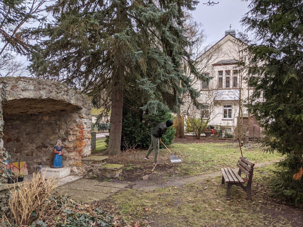 Der Garten des Vincenz-Hauses